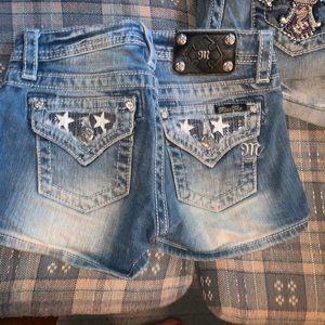 Miss me shorts 2 pairs